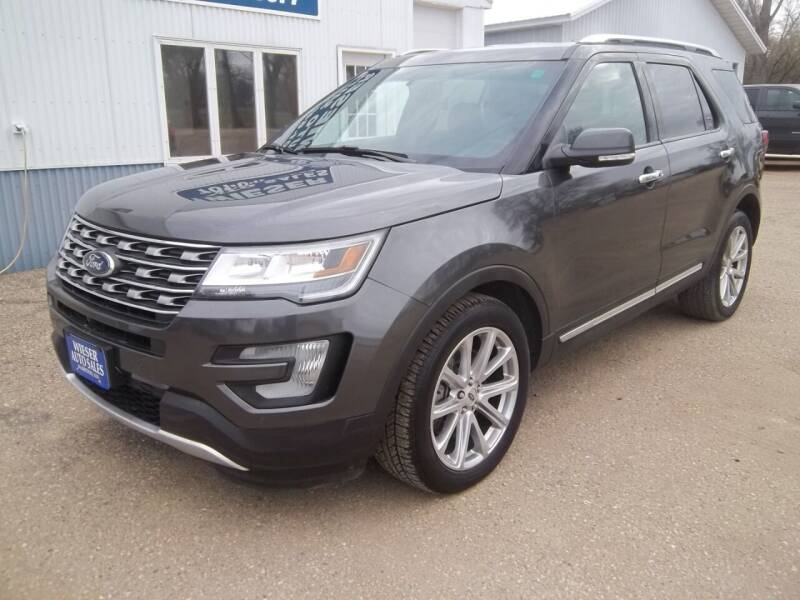 2016 Ford Explorer for sale at Wieser Auto INC in Wahpeton ND
