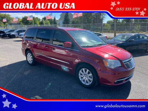 2014 Chrysler Town and Country for sale at GLOBAL AUTO USA in Saint Paul MN