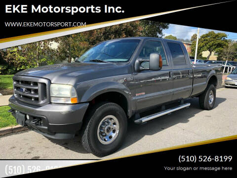 2004 Ford F-350 Super Duty for sale at EKE Motorsports Inc. in El Cerrito CA