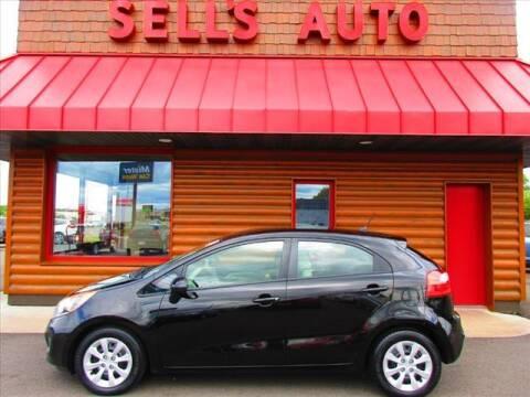 2013 Kia Rio 5-Door for sale at Sells Auto INC in Saint Cloud MN