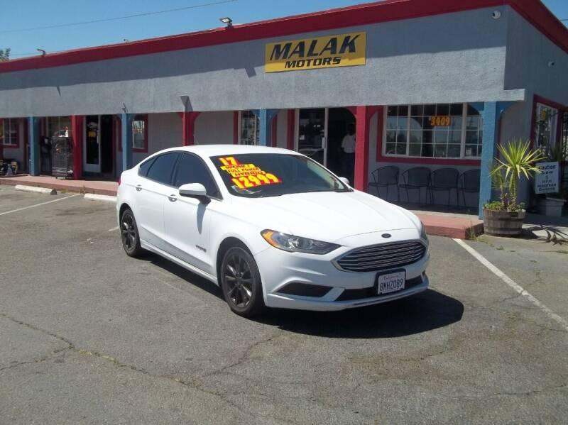 2017 Ford Fusion Hybrid for sale at Atayas Motors INC #1 in Sacramento CA
