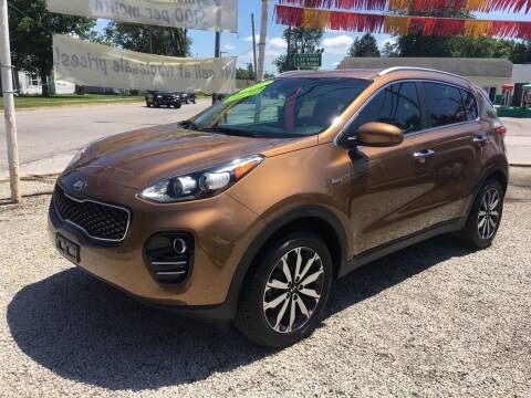 2017 Kia Sportage for sale at Antique Motors in Plymouth IN