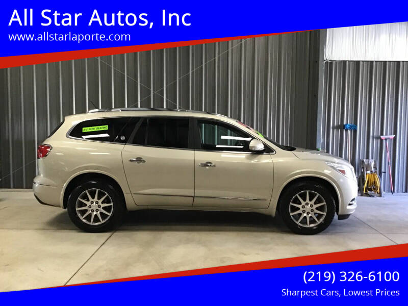 2015 Buick Enclave for sale at All Star Autos, Inc in La Porte IN
