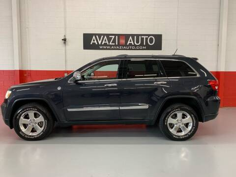 2012 Jeep Grand Cherokee for sale at AVAZI AUTO GROUP LLC in Gaithersburg MD