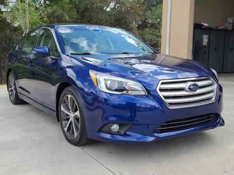 2015 Subaru Legacy for sale at Jeff's Auto Sales & Service in Port Charlotte FL