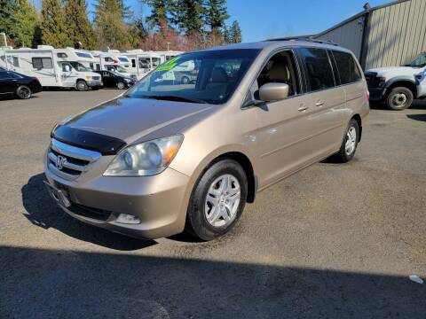 2007 Honda Odyssey for sale at Blue Lake Auto & RV Repair Inc in Fairview OR