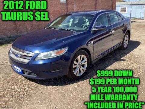 2012 Ford Taurus for sale at D&D Auto Sales, LLC in Rowley MA