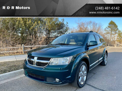 2009 Dodge Journey for sale at R & R Motors in Waterford MI