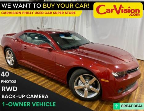 2015 Chevrolet Camaro for sale at Car Vision Mitsubishi Norristown - Car Vision Philly Used Car SuperStore in Philadelphia PA