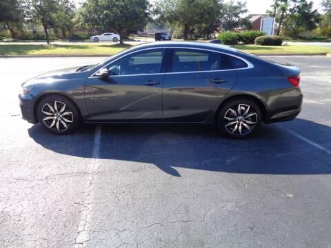 2016 Chevrolet Malibu for sale at BALKCUM AUTO INC in Wilmington NC