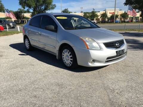 2012 Nissan Sentra for sale at First Coast Auto Connection in Orange Park FL