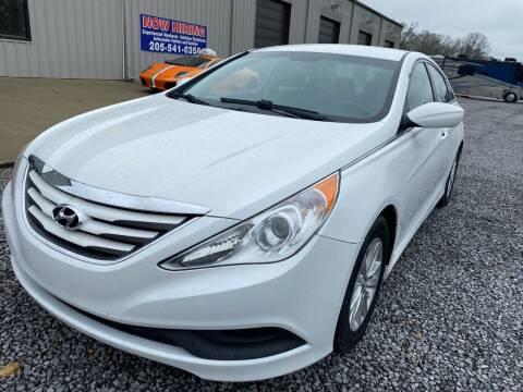 2014 Hyundai Sonata for sale at Alpha Automotive in Odenville AL