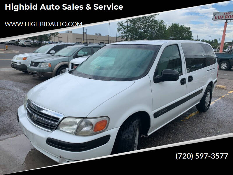 2003 Chevrolet Venture for sale at Highbid Auto Sales & Service in Lakewood CO