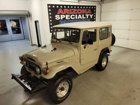 1978 Toyota Land Cruiser for sale at Arizona Specialty Motors in Tempe AZ