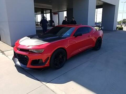 2020 Chevrolet Camaro for sale at Jerry's Buick GMC in Weatherford TX