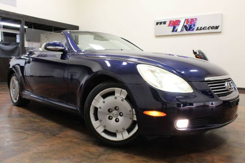 2002 Lexus SC 430 for sale at Driveline LLC in Jacksonville FL