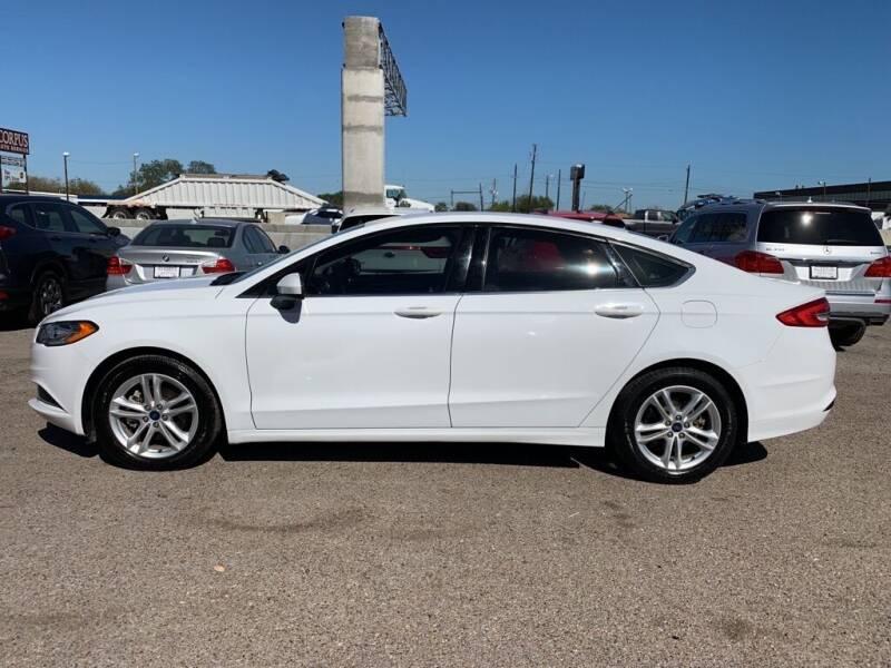 2018 Ford Fusion for sale at Primetime Auto in Corpus Christi TX