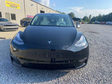 2021 Tesla Model Y for sale at Alpha Automotive in Odenville AL