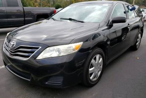 2011 Toyota Camry for sale at Klassic Cars in Lilburn GA
