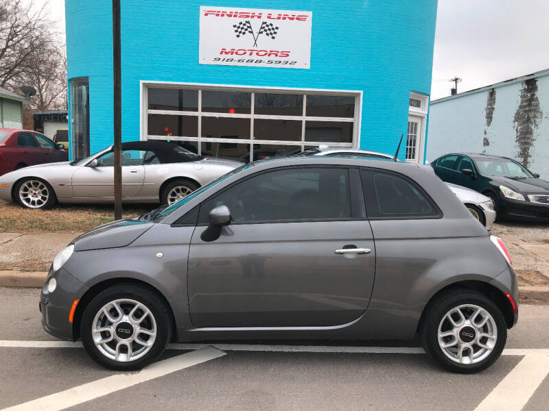 2013 FIAT 500 for sale at Finish Line Motors in Tulsa OK