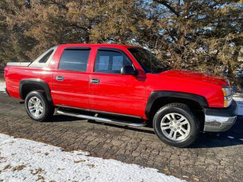 2004 Chevrolet Avalanche for sale at Kansas Car Finder in Valley Falls KS