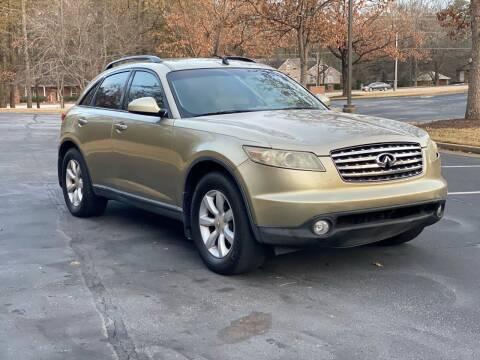 2004 Infiniti FX35 for sale at Top Notch Luxury Motors in Decatur GA