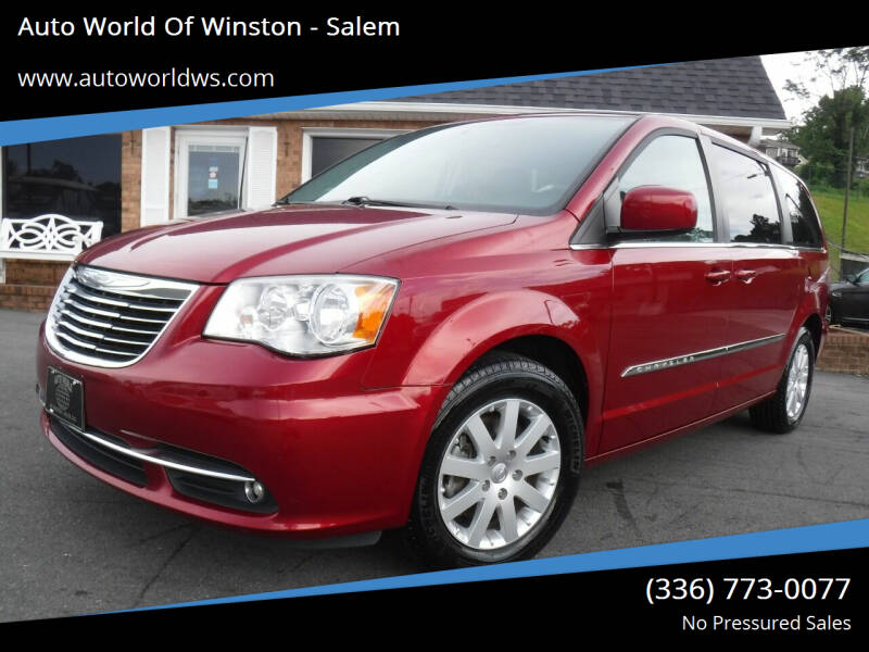 2014 Chrysler Town and Country for sale at Auto World Of Winston - Salem in Winston Salem NC
