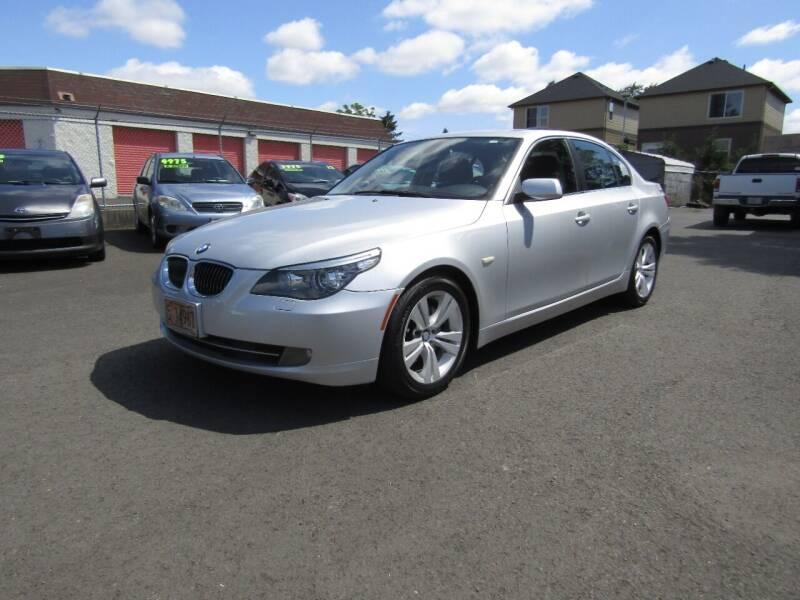 2010 BMW 5 Series for sale at ARISTA CAR COMPANY LLC in Portland OR