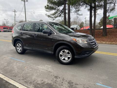 2014 Honda CR-V for sale at THE AUTO FINDERS in Durham NC