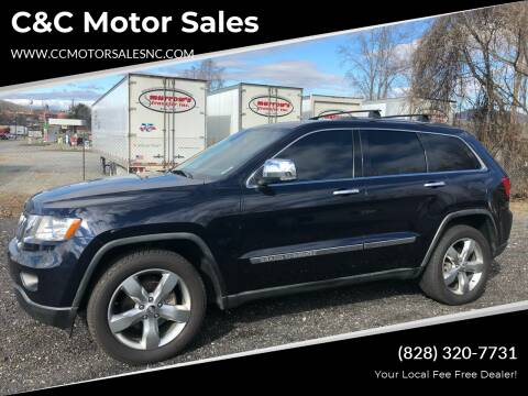 2011 Jeep Grand Cherokee for sale at C&C Motor Sales LLC in Hudson NC