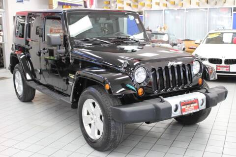 2008 Jeep Wrangler Unlimited for sale at Windy City Motors in Chicago IL