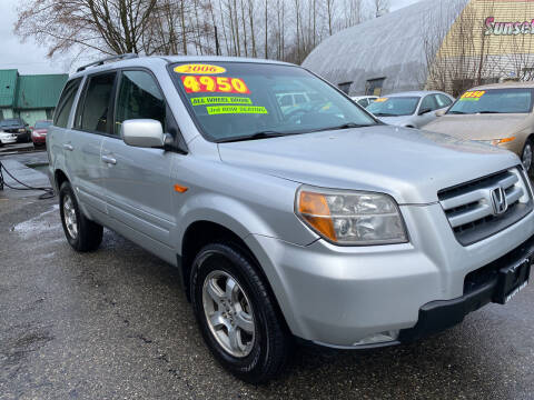 2006 Honda Pilot for sale at Low Auto Sales in Sedro Woolley WA