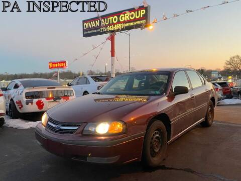 2002 Chevrolet Impala for sale at Divan Auto Group in Feasterville PA