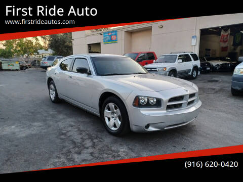 2008 Dodge Charger for sale at First Ride Auto in Sacramento CA