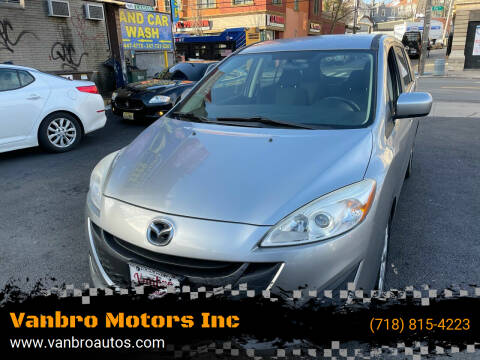 2012 Mazda MAZDA5 for sale at Vanbro Motors Inc in Staten Island NY