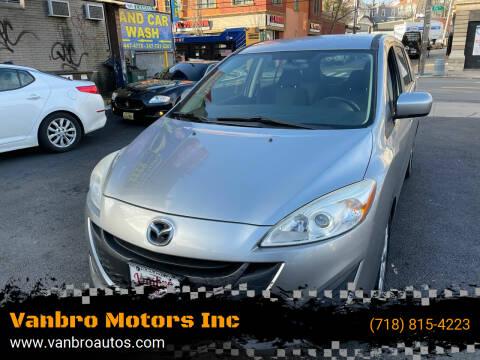 2012 Mazda MAZDA5 for sale at Vanbro Motors Inc in Staten Island NY