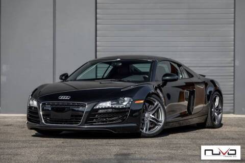 2012 Audi R8 for sale at Nuvo Trade in Newport Beach CA