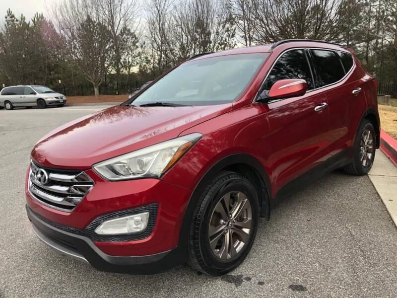 2013 Hyundai Santa Fe Sport for sale at MJ AUTO BROKER in Alpharetta GA