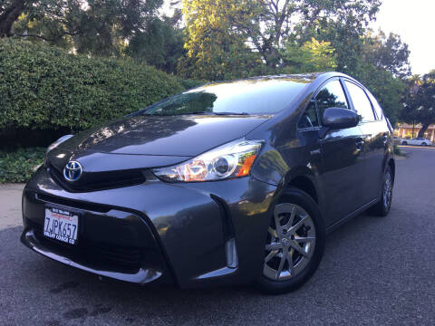 2015 Toyota Prius v for sale at Valley Coach Co Sales & Lsng in Van Nuys CA