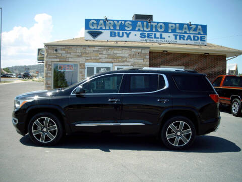 2019 GMC Acadia for sale at GARY'S AUTO PLAZA in Helena MT