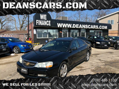 2002 Acura TL for sale at DEANSCARS.COM in Bridgeview IL