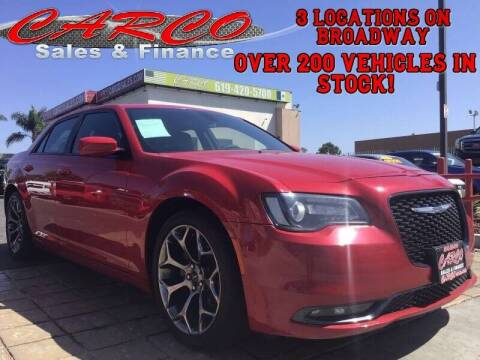 2017 Chrysler 300 for sale at CARCO SALES & FINANCE #3 in Chula Vista CA