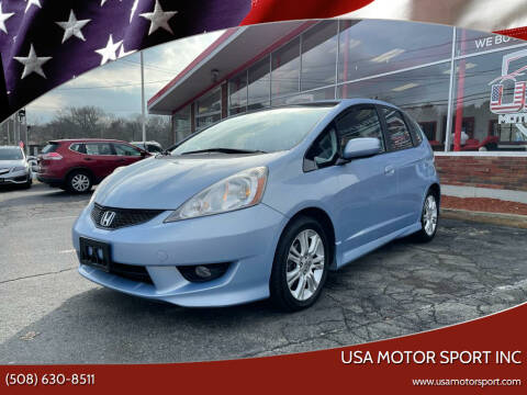 2009 Honda Fit for sale at USA Motor Sport inc in Marlborough MA