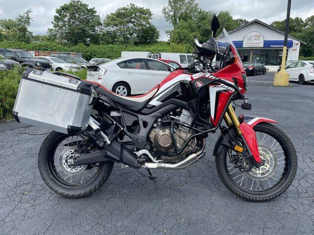 2017 Honda Africa Twin CRF1000L for sale at All Star Auto  Cycle in Marlborough MA