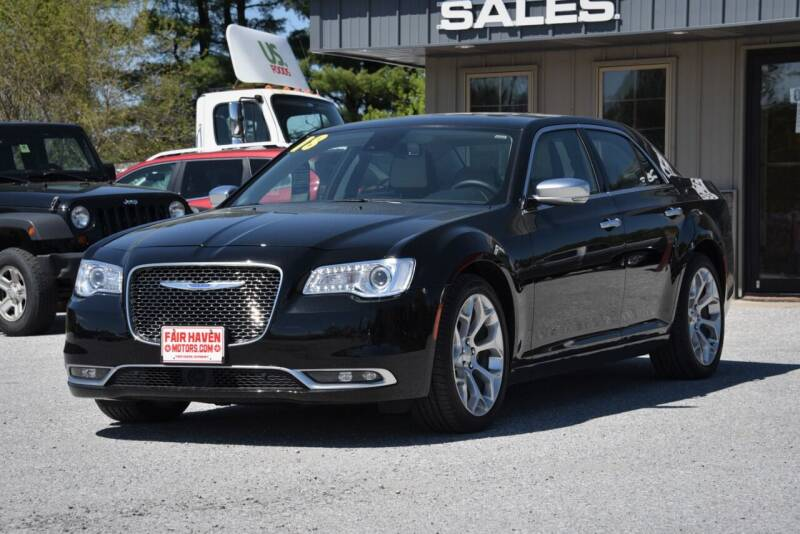 2018 Chrysler 300 for sale at Will's Fair Haven Motors in Fair Haven VT