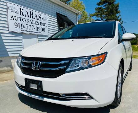 2014 Honda Odyssey for sale at Karas Auto Sales Inc. in Sanford NC