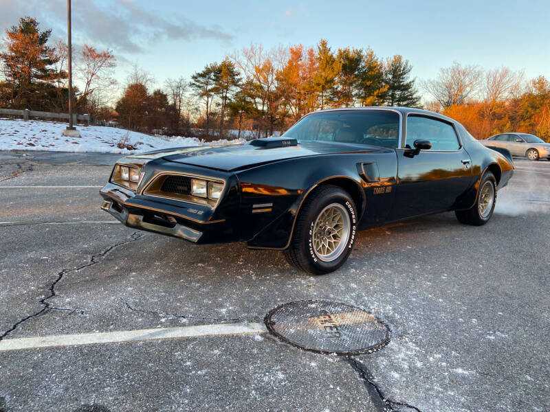 1978 Pontiac Firebird Trans Am for sale at Clair Classics in Westford MA