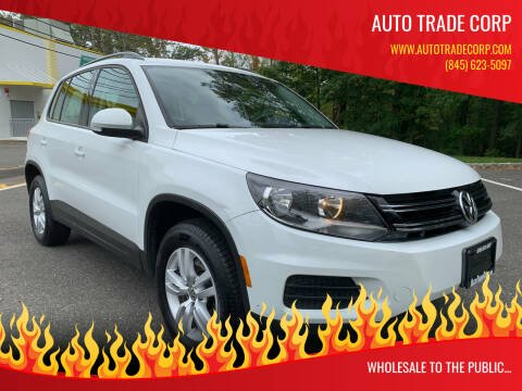 2017 Volkswagen Tiguan for sale at AUTO TRADE CORP in Nanuet NY
