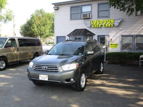 2010 Toyota Highlander for sale at Loudoun Used Cars in Leesburg VA