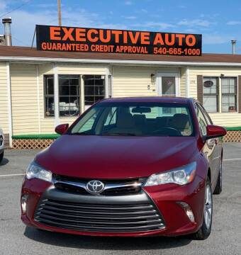 2017 Toyota Camry for sale at Executive Auto in Winchester VA